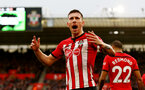 SOUTHAMPTON, ENGLAND - DECEMBER 16: Pierre-Emile Hojbjerg of Southampton during the Premier League match between Southampton FC and Arsenal FC at St Mary's Stadium on December 15, 2018 in Southampton, United Kingdom. (Photo by Matt Watson/Southampton FC via Getty Images)