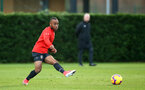 SOUTHAMPTON, ENGLAND - DECEMBER 19: Tyreke Johnson during a training session at Staplewood Complex on December 19, 2018 in Southampton, England. (Photo by James Bridle - Southampton FC/Southampton FC via Getty Images)