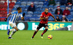 HUDDERSFIELD, ENGLAND - DECEMBER 22: Nathan Redmond(R) of Southampton during the Premier League match between Huddersfield Town and Southampton FC at John Smith's Stadium on December 22, 2018 in Huddersfield, United Kingdom. (Photo by Matt Watson/Southampton FC via Getty Images)