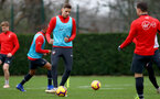 SOUTHAMPTON, ENGLAND - DECEMBER 25: Jan Bednarek during a Southampton FC training session at the Staplewood Campus on December 25, 2018 in Southampton, England. (Photo by Matt Watson/Southampton FC via Getty Images)