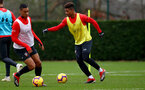 SOUTHAMPTON, ENGLAND - DECEMBER 25: Mario Lemina during a Southampton FC training session at the Staplewood Campus on December 25, 2018 in Southampton, England. (Photo by Matt Watson/Southampton FC via Getty Images)