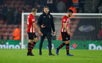 SOUTHAMPTON, ENGLAND - DECEMBER 27:  Ralph Hasenhuttl of Southampton during the Premier League match between Southampton FC and West Ham United at St Mary's Stadium on December 27, 2018 in Southampton, United Kingdom. (Photo by Matt Watson/Southampton FC via Getty Images)