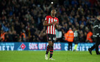 SOUTHAMPTON, ENGLAND - DECEMBER 30: Kayne Ramsay during the Premier League match between Southampton FC and Manchester City at St Mary's Stadium on December 29, 2018 in Southampton, United Kingdom. (Photo by Chris Moorhouse/Southampton FC via Getty Images)
