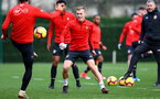 SOUTHAMPTON, ENGLAND - JANUARY 01: James Ward-Prowse of Southampton during a Southampton FC training session at the Staplewood Campus on January 01, 2019 in Southampton, England. (Photo by Matt Watson/Southampton FC via Getty Images)