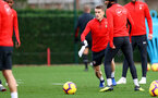 SOUTHAMPTON, ENGLAND - JANUARY 01: Steven Davis of Southampton during a Southampton FC training session at the Staplewood Campus on January 01, 2019 in Southampton, England. (Photo by Matt Watson/Southampton FC via Getty Images)