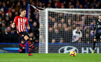 LONDON, ENGLAND - JANUARY 02: Jan Bednarek of Southampton during the Premier League match between Chelsea FC and Southampton FC at Stamford Bridge on January 02, 2019 in London, United Kingdom. (Photo by Matt Watson/Southampton FC via Getty Images)
