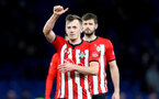 LONDON, ENGLAND - JANUARY 02: James Ward-Prowse of Southampton during the Premier League match between Chelsea FC and Southampton FC at Stamford Bridge on January 02, 2019 in London, United Kingdom. (Photo by Matt Watson/Southampton FC via Getty Images)