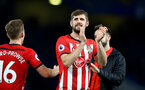LONDON, ENGLAND - JANUARY 02: Jack Stephens of Southampton during the Premier League match between Chelsea FC and Southampton FC at Stamford Bridge on January 02, 2019 in London, United Kingdom. (Photo by Matt Watson/Southampton FC via Getty Images)
