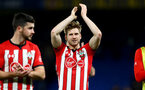 LONDON, ENGLAND - JANUARY 02: Stuart Armstrong of Southampton during the Premier League match between Chelsea FC and Southampton FC at Stamford Bridge on January 02, 2019 in London, United Kingdom. (Photo by Matt Watson/Southampton FC via Getty Images)