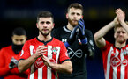 LONDON, ENGLAND - JANUARY 02: Shane Long of Southampton during the Premier League match between Chelsea FC and Southampton FC at Stamford Bridge on January 02, 2019 in London, United Kingdom. (Photo by Matt Watson/Southampton FC via Getty Images)