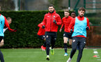 SOUTHAMPTON, ENGLAND - JANUARY 03: Charlie Austin during a Southampton FC training session at the Staplewood Campus on January 03, 2019 in Southampton, England. (Photo by Matt Watson/Southampton FC via Getty Images)