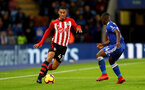 LEICESTER, ENGLAND - JANUARY 12: Yan Valery of Southampton during the Premier League match between Leicester City and Southampton FC at The King Power Stadium on January 12, 2019 in Leicester, United Kingdom. (Photo by Matt Watson/Southampton FC via Getty Images)
