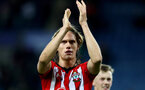 LEICESTER, ENGLAND - JANUARY 12: Jannik Vestergaard of Southampton during the Premier League match between Leicester City and Southampton FC at The King Power Stadium on January 12, 2019 in Leicester, United Kingdom. (Photo by Matt Watson/Southampton FC via Getty Images)