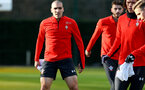 SOUTHAMPTON, ENGLAND - JANUARY 14: Oriol Romeu during a Southampton FC training session at the Staplewood Campus on January 14, 2019 in Southampton, England. (Photo by Matt Watson/Southampton FC via Getty Images)