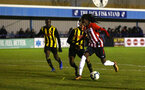 LONDON, ENGLAND - JANUARY 17: Taymar Fleary (right) during a  FA Youth Cup match between Watford FC and Southampton FC on January 17, 2019 in Watford, United Kingdom. (Photo by James Bridle - Southampton FC/Southampton FC via Getty Images)