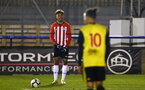 LONDON, ENGLAND - JANUARY 17:  Enzro Robise during a  FA Youth Cup match between Watford FC and Southampton FC on January 17, 2019 in Watford, United Kingdom. (Photo by James Bridle - Southampton FC/Southampton FC via Getty Images)