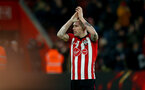 SOUTHAMPTON, ENGLAND - JANUARY 19: Pierre-Emile Hojbjerg of Southampton during the Premier League match between Southampton FC and Everton FC at St Mary's Stadium on January 19, 2019 in Southampton, United Kingdom. (Photo by Matt Watson/Southampton FC via Getty Images)