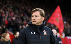 SOUTHAMPTON, ENGLAND - JANUARY 19: Ralph Hasenhuttl during the Premier League match between Southampton FC and Everton FC at St Mary's Stadium on January 19, 2019 in Southampton, United Kingdom. (Photo by Chris Moorhouse/Southampton FC via Getty Images)