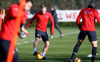 SOUTHAMPTON, ENGLAND - JANUARY 23: James Ward-Prowse during a Southampton FC training session at the Staplewood Campus on January 23, 2019 in Southampton, England. (Photo by Matt Watson/Southampton FC via Getty Images)