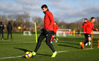 SOUTHAMPTON, ENGLAND - JANUARY 23: Mohamed Elyounoussi during a Southampton FC training session at the Staplewood Campus on January 23, 2019 in Southampton, England. (Photo by Matt Watson/Southampton FC via Getty Images)