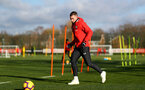SOUTHAMPTON, ENGLAND - JANUARY 23: Pierre-Emile Hojbjerg during a Southampton FC training session at the Staplewood Campus on January 23, 2019 in Southampton, England. (Photo by Matt Watson/Southampton FC via Getty Images)