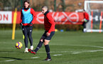 SOUTHAMPTON, ENGLAND - JANUARY 23: Oriol Romeu during a Southampton FC training session at the Staplewood Campus on January 23, 2019 in Southampton, England. (Photo by Matt Watson/Southampton FC via Getty Images)
