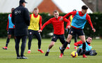 SOUTHAMPTON, ENGLAND - JANUARY 26: James Ward-Prowse during a Southampton FC training session at the Staplewood Campus on January 26, 2019 in Southampton, England. (Photo by Matt Watson/Southampton FC via Getty Images)