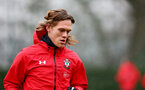 SOUTHAMPTON, ENGLAND - FEBRUARY 01: Jannik Vestergaard during a Southampton FC training session at the Staplewood Campus on February 01, 2019 in Southampton, England. (Photo by Matt Watson/Southampton FC via Getty Images)