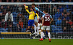 BURNLEY, ENGLAND - FEBRUARY 02: Jack Stephens of Southampton handles the ball to give away a penalty during the Premier League match between Burnley FC and Southampton FC at Turf Moor on February 02, 2019 in Burnley, United Kingdom. (Photo by Matt Watson/Southampton FC via Getty Images)