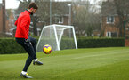 SOUTHAMPTON, ENGLAND - FEBRUARY 05: Jack Stephens during a Southampton FC  training session at Staplewood Complex on February 05, 2019 in Southampton, England. (Photo by James Bridle - Southampton FC/Southampton FC via Getty Images)
