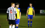 NEWCASTLE, ENGLAND - FEBRUARY 08: Harry Hamblin (right) during a PLCUP match between Southampton FC and Newcastle United pictured at Northumberland County FA on February 08, 2019 in Newcastle, England. (Photo by James Bridle - Southampton FC/Southampton FC via Getty Images)