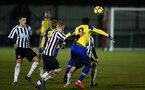 NEWCASTLE, ENGLAND - FEBRUARY 08: during a PLCUP match between Southampton FC and Newcastle United pictured at Northumberland County FA on February 08, 2019 in Newcastle, England. (Photo by James Bridle - Southampton FC/Southampton FC via Getty Images)