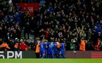 SOUTHAMPTON, ENGLAND - FEBRUARY 09: Cardiff players celebrate during the Premier League match between Southampton FC and Cardiff City at St Mary's Stadium on February 09, 2019 in Southampton, United Kingdom. (Photo by Matt Watson/Southampton FC via Getty Images)
