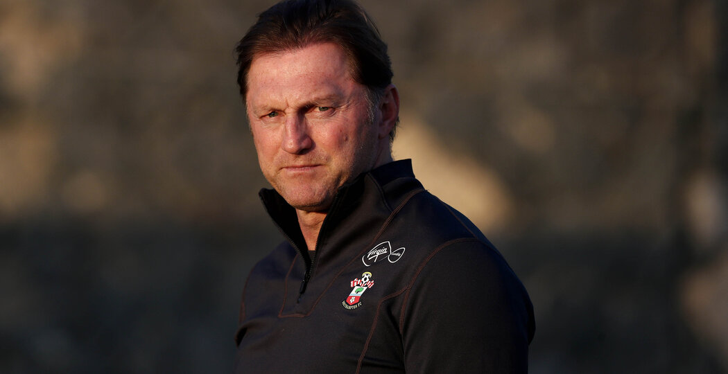 TENERIFE, SPAIN - FEBRUARY 11: Ralph Hasenhuttl on day 1 of the Southampton FC Tenerife training camp on February 11, 2019 in Tenerife, Spain. (Photo by Matt Watson/Southampton FC via Getty Images)