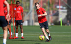 TENERIFE, SPAIN - FEBRUARY 12: James Ward-Prowse on day 2 of Southampton FC's winter training Camp, on February 12, 2019 in Tenerife, Spain. (Photo by Matt Watson/Southampton FC via Getty Images)