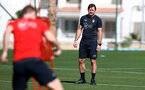 TENERIFE, SPAIN - FEBRUARY 12: Ralph Hasenhuttl on day 2 of Southampton FC's winter training Camp, on February 12, 2019 in Tenerife, Spain. (Photo by Matt Watson/Southampton FC via Getty Images)