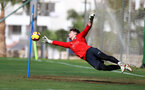 TENERIFE, SPAIN - FEBRUARY 12: Harry Lewis on day 2 of Southampton FC's winter training Camp, on February 12, 2019 in Tenerife, Spain. (Photo by Matt Watson/Southampton FC via Getty Images)
