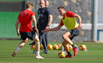 TENERIFE, SPAIN - FEBRUARY 12: Jan Bednarek on day 2 of Southampton FC's winter training Camp, on February 12, 2019 in Tenerife, Spain. (Photo by Matt Watson/Southampton FC via Getty Images)