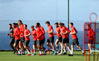 TENERIFE, SPAIN - FEBRUARY 15: Players run on day 5 of Southampton FC's winter training camp on February 15, 2019 in Tenerife, Spain. (Photo by Matt Watson/Southampton FC via Getty Images)