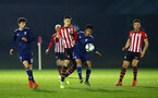 SOUTHAMPTON, ENGLAND - FEBRUARY 15: Will Smallbone (Middle) during the U23s PL2 match between Southampton FC and Fulham FC pictured at Staplewood Complex on February 15, 2019 in Southampton, England. (Photo by James Bridle - Southampton FC/Southampton FC via Getty Images)