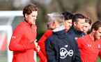 Sam Gallagher during a Southampton FC training session at the Staplewood Campus, Southampton, 19th February 2019