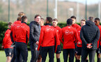 Ralph Hasenhuttl during a Southampton FC training session at the Staplewood Campus, Southampton, 19th February 2019