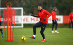 SOUTHAMPTON, ENGLAND - FEBRUARY 20: Pierre-Emile Hojbjerg during a Southampton FC training session pictured at Staplewood Complex on February 20, 2019 in Southampton, England. (Photo by James Bridle - Southampton FC/Southampton FC via Getty Images)