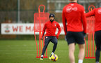 SOUTHAMPTON, ENGLAND - FEBRUARY 20: Nathan Redmond during a Southampton FC training session pictured at Staplewood Complex on February 20, 2019 in Southampton, England. (Photo by James Bridle - Southampton FC/Southampton FC via Getty Images)