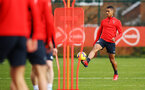SOUTHAMPTON, ENGLAND - FEBRUARY 20: Yan Valery (right) during a Southampton FC training session pictured at Staplewood Complex on February 20, 2019 in Southampton, England. (Photo by James Bridle - Southampton FC/Southampton FC via Getty Images)