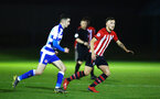 SOUTHAMPTON, ENGLAND - MARCH 01: Harry Hamblin (right) during the PL2 match between Southampton FC and Reading FC pictured at Staplewood Complex on March 01, 2019 in Southampton, England. (Photo by James Bridle - Southampton FC/Southampton FC via Getty Images)