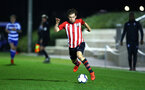 SOUTHAMPTON, ENGLAND - MARCH 01: Jake Vokins during the PL2 match between Southampton FC and Reading FC pictured at Staplewood Complex on March 01, 2019 in Southampton, England. (Photo by James Bridle - Southampton FC/Southampton FC via Getty Images)