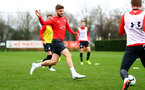SOUTHAMPTON, ENGLAND - MARCH 03: Jack Stephens during a Southampton FC training session at the Staplewood Campus on March 03, 2019 in Southampton, England. (Photo by Matt Watson/Southampton FC via Getty Images)