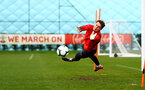 SOUTHAMPTON, ENGLAND - MARCH 03: Harry Lewis during a Southampton FC training session at the Staplewood Campus on March 03, 2019 in Southampton, England. (Photo by Matt Watson/Southampton FC via Getty Images)