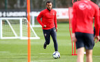 SOUTHAMPTON, ENGLAND - MARCH 05: Ryan Bertrand during a Southampton FC training session at the Staplewood Campus on March 05, 2019 in Southampton, England. (Photo by Matt Watson/Southampton FC via Getty Images)